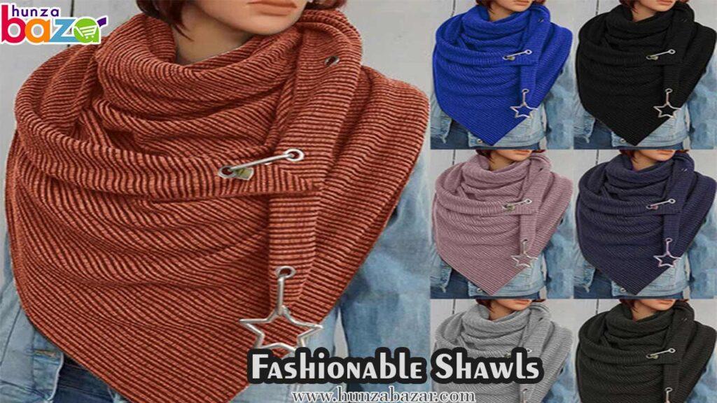 fashion shawls in Pakistan