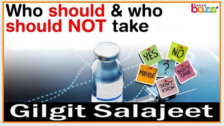 Who should avoid Salajeet