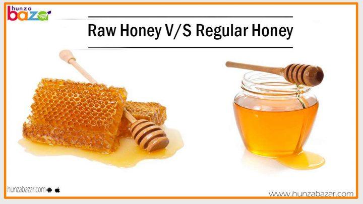 raw honey vs regular honey
