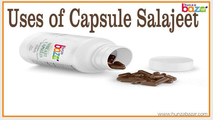uses of capsule salajeet